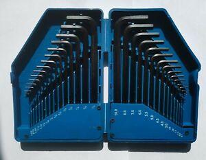 DRAPER 30pc Allen Key Set KW30 Metric and AF