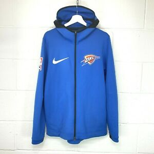 Nike OKC Thermaflex Showtime NBA Warm Up Hoody Hoodie Basketball Jersey Vest M