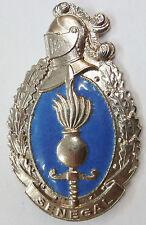 Insigne Obsolète GENDARMERIE du SENEGAL Afrique 1960 ORIGINAL émail France