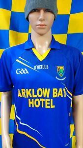 Wicklow GAA Official O'Neills Gaelic Football Jersey Shirt (Adult Medium)