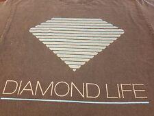 Diamond Supply Co. DIAMOND LIFE short sleeve  black shirt Medium