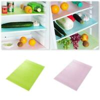 4x Kühlschrank Pad Schublade Regal Liner Küche Anti-Öl Anti-Fouling M7E0