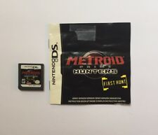Metroid Prime Hunters: First Hunt Nintendo DS with book