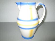 Alte Kakaokanne Keramik Art Deco Spritzdekor vermutlich Colditz Mordellnr. 2941