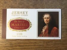 Jersey Stamp Booklet £3.08 Story of Martell Cognac