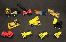 10 DieCast Maisto/TONKA 1:64 Road Crew CONSTRUCTION Vehicles & Trucks