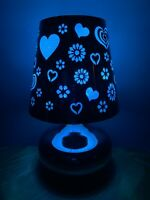 Heart Lamp Electric Wax Warmer/Burner with pack of 10 Scented Melts (3147)