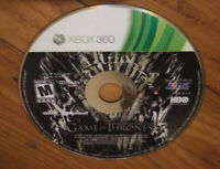 Game of Thrones (Xbox 360) Disc Only,  Fast Free Shipping!