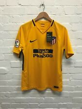 Nike Atletico Madrid Men's 2018/19 Away Shirt - M-Yellow -New