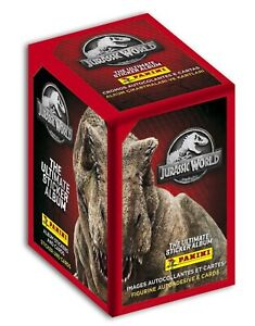 Jurassic World The Ultimate Collection 2021 PANINI 36 packs Stickers cards 1 BOX