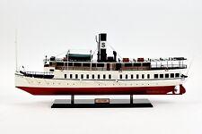 """Saltsjon (Saltsjön) Steamship - Handmade Wooden Passenger Ship Model 32"""""""