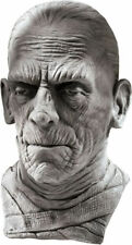 Morris Costumes Men's New Horror Mummy Over The Head Deluxe Latex Mask. RU67134