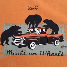 Meals On Wheels T Shirt Banff National Park Bears Alberta Canada Resort Town