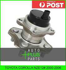 Fits TOYOTA COROLLA NZE12# 2000-2006 - REAR WHEEL HUB