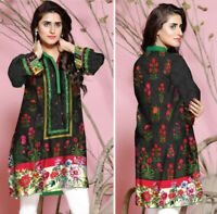 Sufia Fashions® Women Indian Kurti Kurta Cotton Designer Digital Print Tunic Top