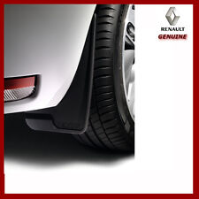 Genuine Renault Universal Mud Flaps / Guards. Front & Rear. New. 8201212479 x2