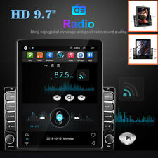 """9.7""""HD 2.5D Vertical Screen Android 8.1 MP5 Player Car GPS Bluetooth Hands Free"""