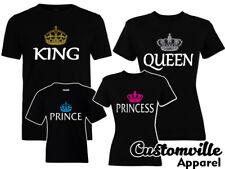 cef28ffb King Queen Prince Princess Family Matching shirts Royal Crown Cruise  Vacation