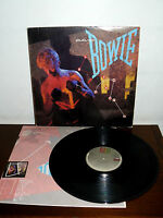 "DAVID BOWIE 12"" LP LET'S DANCE - PORTUGAL YEAR 1983 ( IGGY POP -MORODER-BOWIE )"