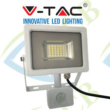 V-TAC VT-4830 PIR 30W SMD PIR SENSOR SLIMLINE SLIM LED FLOODLIGHT WHITE IP44