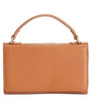 Giani Bernini Nappa Leather Smartphone Crossbody Wallet Tobacco Handbag $89.50