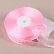 (10 yards/lot) 3/4''(20mm)  organza ribbons wholesale gift wrapping decoration