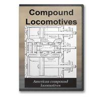 Compound Locomotives - 6 Historic Book Collection Trains Railroads CD - D261