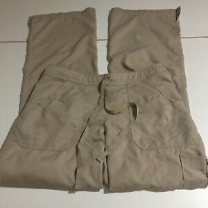 Grey's Anatomy by Barco Women Nurse Uniform Scrub Pants Size Small Tan