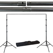 9x10 Adjustable Background Support Stand Kit Photography Photo Backdrop Crossbar