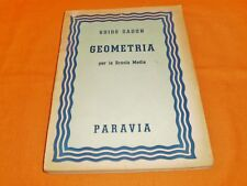 guido sadun geometria per la scuola media paravia 1953