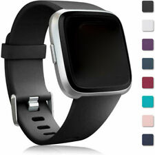 For Fitbit Versa/Lite/2 Watch Replacement Band Wristband Silicone Rubber Strap