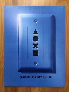 2002 Playstation 2 Online Vintage Print Ad/Poster Official PS2 System Promo Art