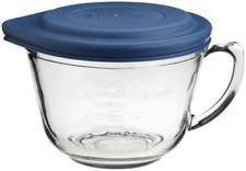 Anchor Hocking 2 Quart Glass Batter Bowl With Lid 81106L11