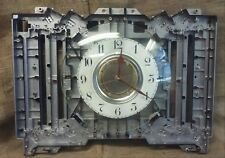 Large Industrial Cast Aluminum Wall Clock-Handcrafted- Steampunk