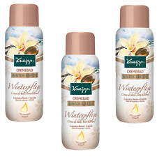 (20,79 €/ L) 3x 13.5oz Kneipp Cream Bath Winter Cupuacu Nut Vanilla Creamy