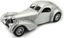 Bugatti Atlantic Année 1936 Argent 1 24 Bburago