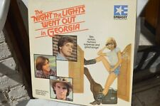 THE NIGHT THE LIGHTS WENT OUT IN GEORGIA P/S LaserDisc 9 Pays FREE Mondial Relay