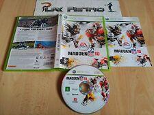 XBOX 360 MADDEN NFL 10 PAL UK COMPLETO