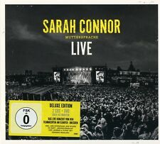 SARAH CONNOR - MUTTERSPRACHE - LIVE (DELUXE EDITION )  2 CD+DVD NEUF
