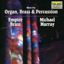 Empire Brass/michael Murray - Music For Organ  Brass & Perc NEW CD