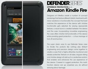 """OtterBox DEFENDER Series for Amazon Kindle Fire 7"""" (1st Gen) - Black / 77-18690"""
