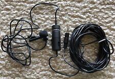 Audio Technica ATR35s lavalier lapel wired microphone