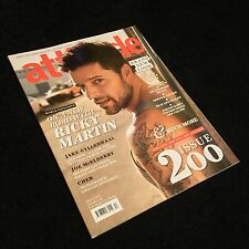 Attitude Magazine - Ricky Martin - Jake Gyllenhaal - January 2011 - Gay Interest