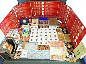 US Coin Collection Lot Silver Kennedy US Mint Set PCGS Mercury Panini Chronicles