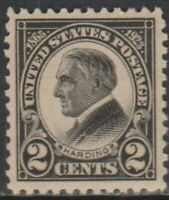 Scott# 610 - 1923 Commemoratives - 2 cents Harding Memorial Issue Single (A)
