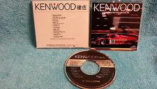 KENWOOD DEMONSTRATION CD Vol. 9 JAPAN Promo Michael Jackson Paul Stanley b3940