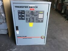 Detroit Diesel Spectrum Generator Transfer Switch 80 Amp Rls 566341 0080 3 Phase