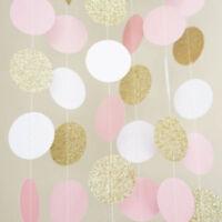 """Hallmark Elegant Gold Glitter Polka Dot /""""Blank/"""" Cards Pack of 10 NEW"""