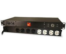 BrickWall PWRM15AUD 15A 120V Audiophile 10 plug Surge protector (Plug is 15A)