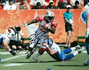 Leon Washington New York Jets Pro Bowl Signed 8x10 Autographed Photo COA